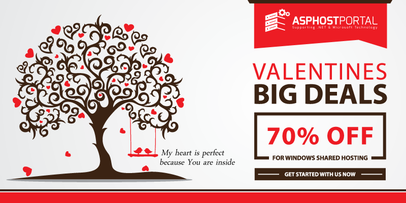 Reliable ASP.NET 5 Hosting – Valentine's Day Hosting Promotion