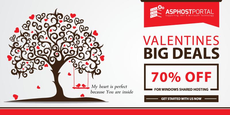 Reliable ASP.NET 5 Hosting – Valentine's Day Hosting Promotion